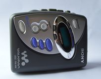 Sony walkman Royalty Free Stock Photo
