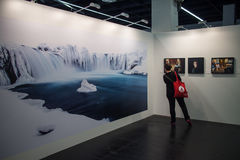 Sony World Photography Awards at Photokina 2016. Wednesday, September 21, 2016: Sony World Photography Awards exhibition at the largest trade fair for photo and Stock Image