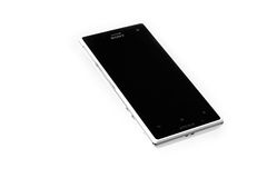 Sony XPERIA Acro S. Isolated. On white background Stock Images