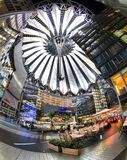 Sony zentrieren in Berlin Lizenzfreie Stockfotografie
