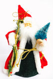 Soon new year. Santa-klaus hastens with gifts to all who it waits royalty free stock images