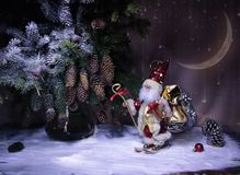 Soon the New year holiday!. What wonderful New year holiday! To create Christmas mood stock photography