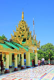 Soon Oo Ponya Shin Pagoda, Sagaing, Myanmar. The Soon Oo Ponya Shin Pagoda is located on the top of the Sagaing Hill. It is one of the oldest temples on Sagaing royalty free stock photos