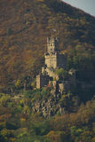 Sooneck. Famous castle in rhine area, germany, Sooneck Stock Photo