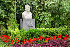 Soong Ching-Ling Wife Sun Yat-Sen Statue Beijing. Soong Ching-Ling Monument Statue, Wife of Sun Yat-Sen.  Garden and former residence of Soong Ching-Ling Royalty Free Stock Image