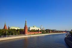 Soort aan Moskou het Kremlin Stock Afbeelding