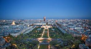 Soort aan nacht Parijs Stock Afbeeldingen