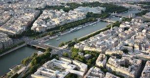 Soort aan Parijs van de hoogte van de Reis d'Eiffel Stock Afbeeldingen