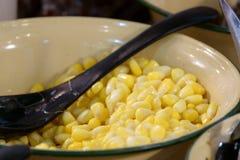 Soort Chinees dessert Bruine Bonen China als dessert Er zijn veel van de gemeenschappelijke boon stock afbeelding