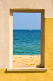 Soort van een venster stock fotografie