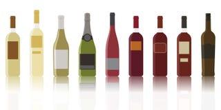 Soort wijnen Royalty-vrije Stock Foto's