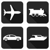 Soorten vervoer Royalty-vrije Stock Afbeeldingen
