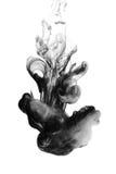Soot. Black ink. Stock Photos