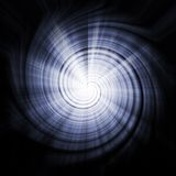 Soothing Blue Abstract Vortex Background Texture Stock Image