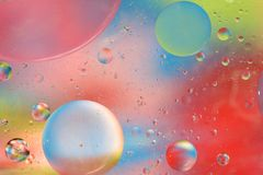 Soothing Bubbles Background Stock Photos
