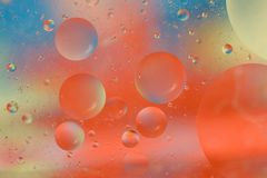 Soothing Bubbles Background Royalty Free Stock Images