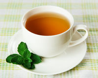 Soothing herbal tea Stock Images