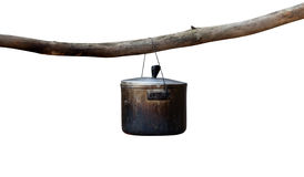 Sooty cauldron Royalty Free Stock Images
