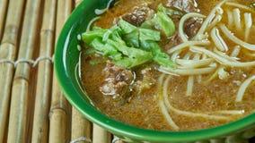 Sop saudara. Beef or buffalo soup specialty of Makassar city, South Sulawesi Stock Photos