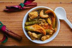 Sopa ácida do estilo do sul tailandês Fotos de Stock