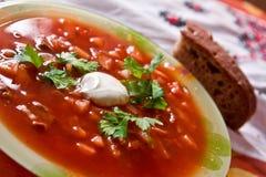 Sopa Foto de Stock Royalty Free