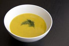 Sopa al curry Fotografía de archivo