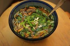 Sopa asiática Foto de archivo libre de regalías
