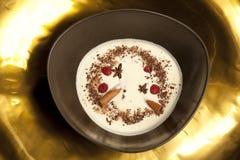Sopa blanca Fotos de archivo