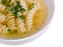 Sopa, caldo de carne Imagem de Stock