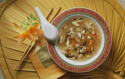 Sopa china Imagen de archivo libre de regalías