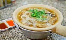 Sopa chinesa Foto de Stock
