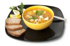 Sopa com feijões Fotografia de Stock Royalty Free