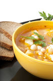 Sopa com feijões Imagens de Stock