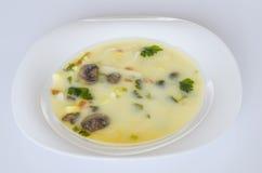 Sopa, comida, comestible, gastrónomo, vegetariano, sana Fotos de archivo