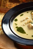 Sopa da alcachofra foto de stock