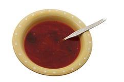 Sopa da beterraba Imagem de Stock