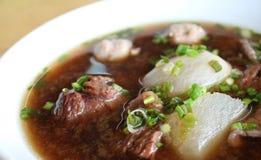 Sopa da carne Foto de Stock Royalty Free