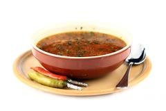 Sopa da carne Fotos de Stock
