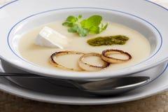 Sopa da cebola Foto de Stock Royalty Free