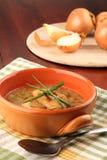 Sopa da cebola Imagens de Stock
