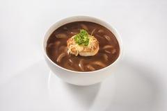 Sopa da cebola Imagem de Stock Royalty Free