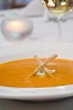 Sopa da cenoura Foto de Stock