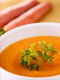Sopa da cenoura Fotos de Stock