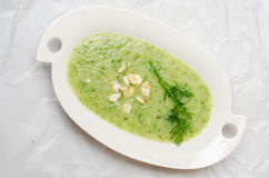 Sopa da couve-rábano Fotos de Stock