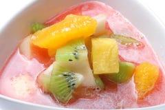 Sopa da fruta fotos de stock royalty free