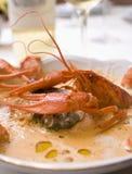 Sopa da lagosta Imagem de Stock
