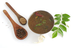 Sopa da pimenta Imagens de Stock