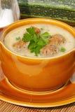 Sopa de abobrinha Foto de Stock