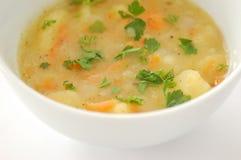 Sopa de batata Fotografia de Stock Royalty Free
