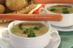 Sopa de batata Foto de Stock